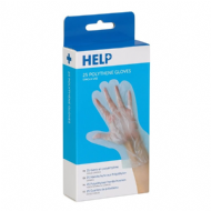 HELP Polythene Gloves - Pair